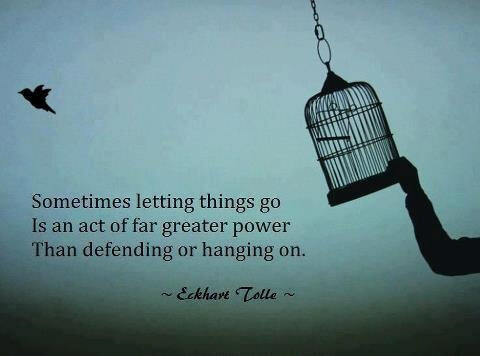 Holding On - Eckhart Tolle